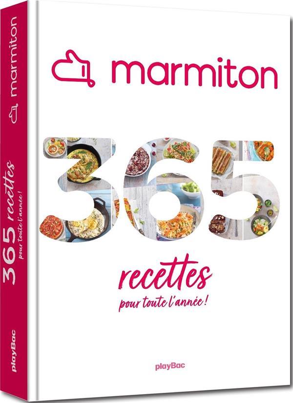Marmiton : 365 recettes pour toute l'année !