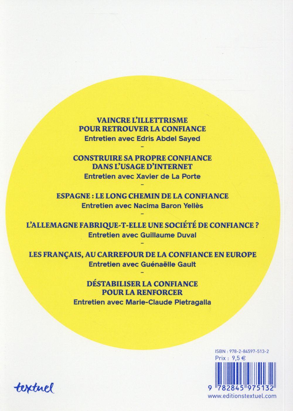 La revue de la confiance t.1