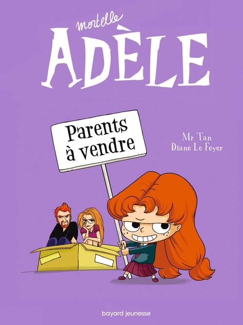 Mortelle Adèle T.8 ; parents à vendre