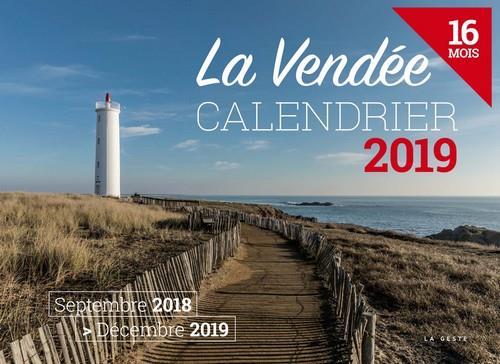 Calendrier ; la Vendée (édition 2019)
