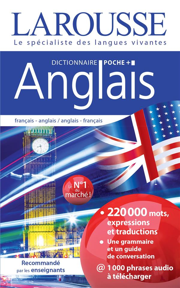 Dictionnaire Larousse poche + anglais