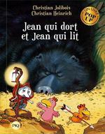 Couverture de Les P'Tites Poules Pop-Up - Jean Qui Dort Et Jean Qui Lit - Tome 7 - Vol07
