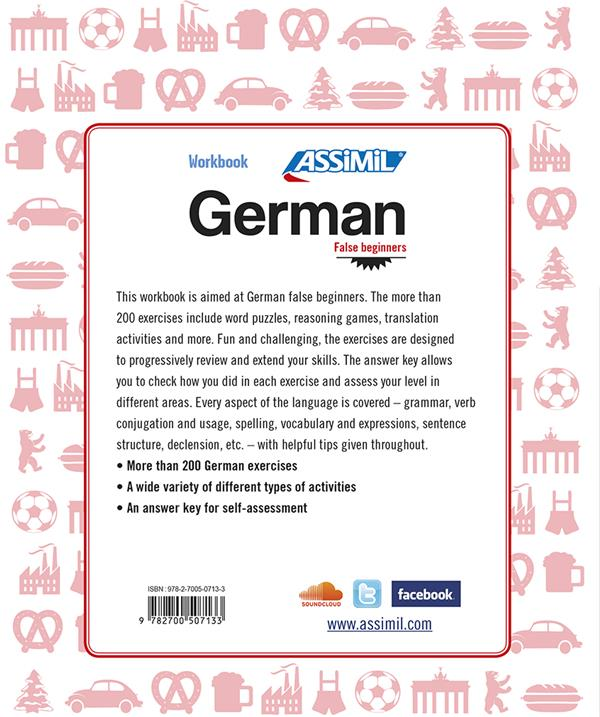 german ; false beginners