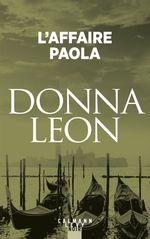 Vente Livre Numérique : L'Affaire Paola  - Donna Leon