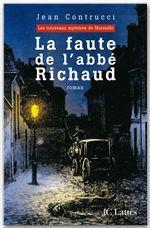 Vente Livre Numérique : La faute de l'abbé Richaud  - Jean Contrucci