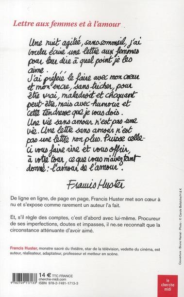 Lettres aux femmes et à l'amour