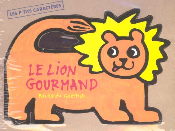 Le lion gourmand