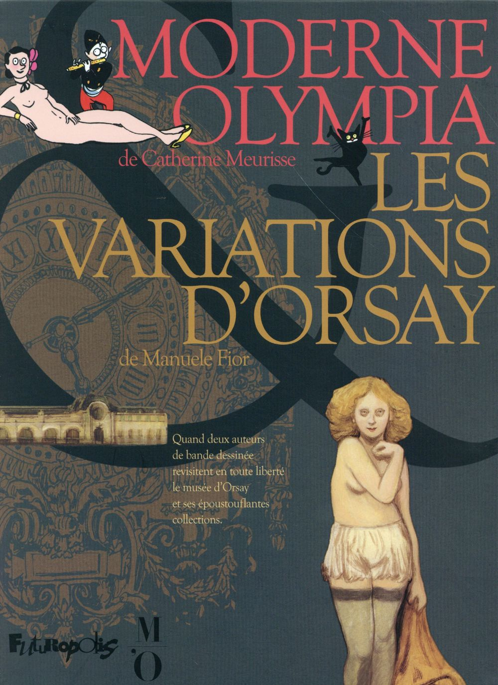 Coffret Orsay ; moderne Olympia ; les variations d'Orsay