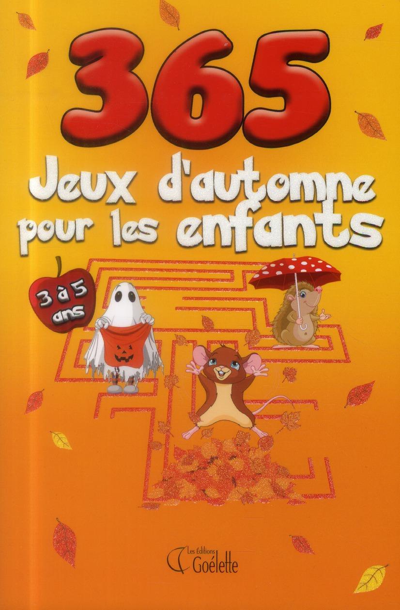 365 jeux d'automne pour les enfants