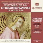 Vente AudioBook : Histoire de la littérature française (Volume 1) - Le Moyen Âge  - Alain Viala