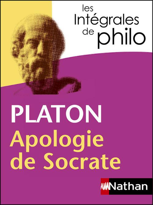 Platon ; apologie de Socrate