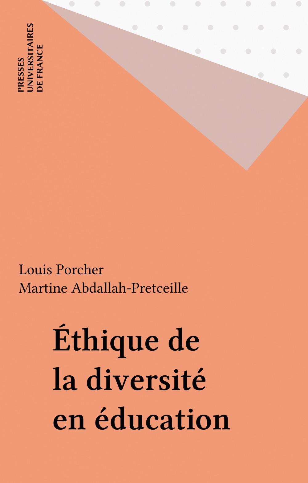 éthique de la diversité et éducation