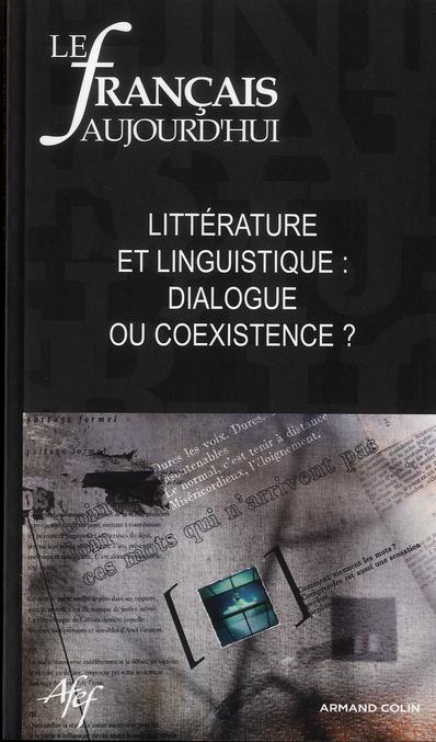 Revue le francais d'aujourd'hui t.175; l'analyse linguistique du litteraire