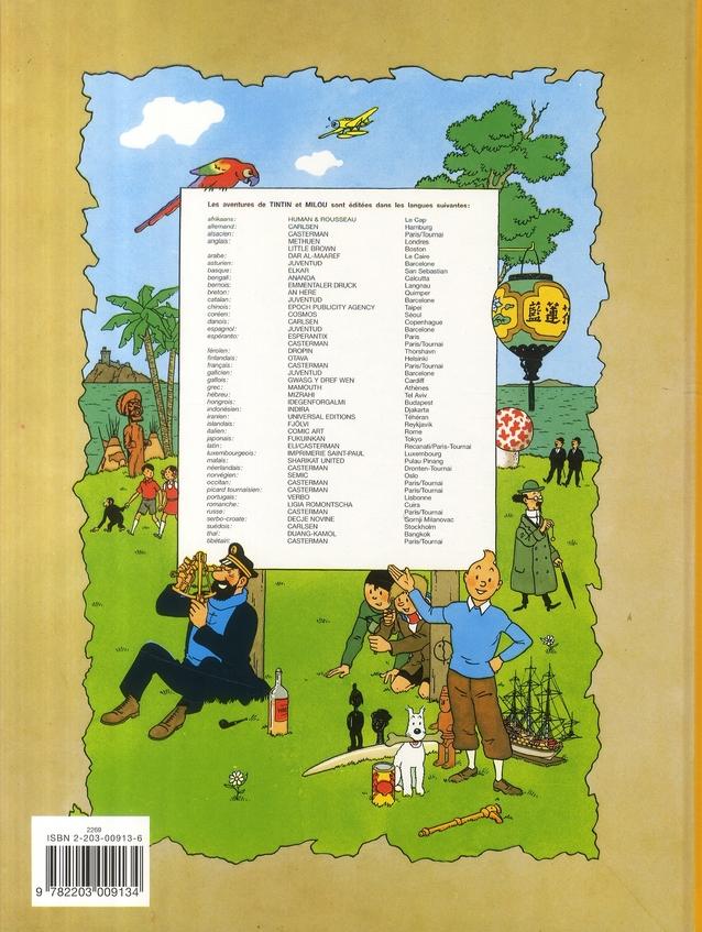 Les aventures de Tintin ; de Tintin un de Milou t.21 ; de Castafiore ihre schmuck