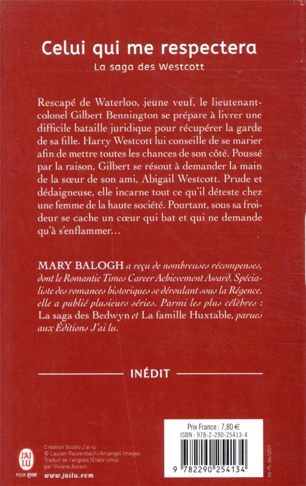 La saga des Westcott T.6 ; celui qui me respectera