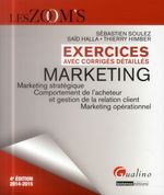 Vente Livre Numérique : Les Zoom's. Exercices avec corrigés détaillés - Marketing 2014-2015 - 4e édition  - Saïd Halla - Thierry Himber - Sébastien Soulez