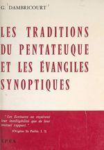 Les traditions du Pentateuque et les Évangiles synoptiques