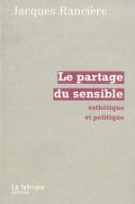 Vente Livre Numérique : La partage du sensible  - Jacques RANCIERE
