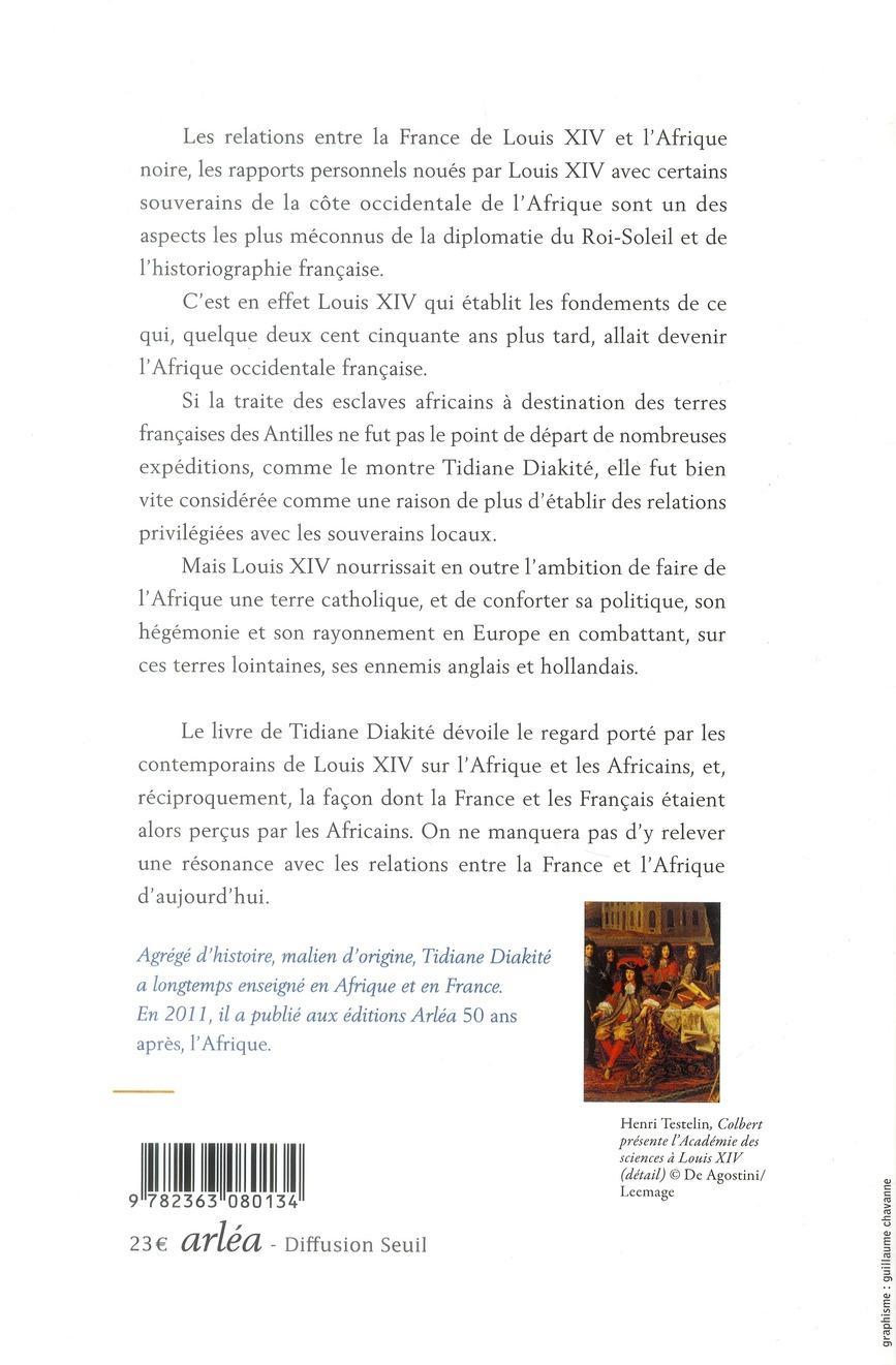 Louis XIV et l'Afrique noire