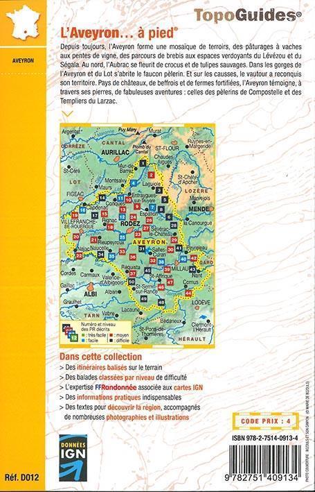 L'Aveyron... à pied (édition 2017)