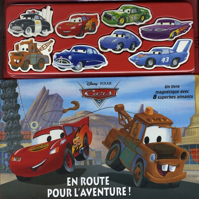 Cars ; Livre-Magnets