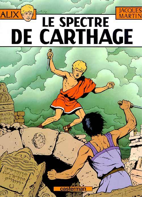Alix T.13 ; le spectre de Carthage