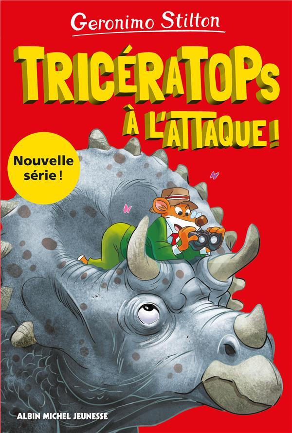 Sur l'île des derniers dinosaures t.2 ; tricératops à l'attaque !