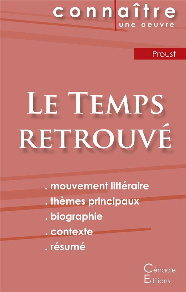 Le Temps Retrouve, De Marcel Proust