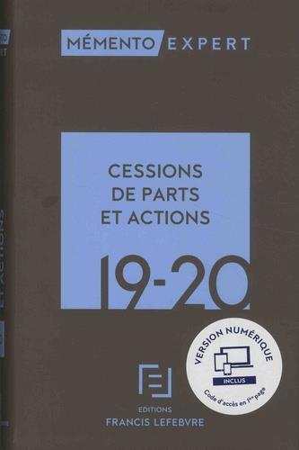 Mémento cessions de parts et actions (édition 2019/2020)
