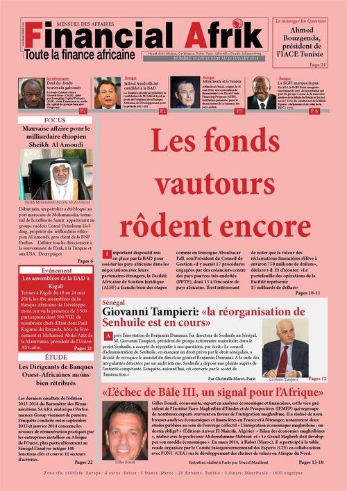 Financial Afrik n°8 juillet 2014