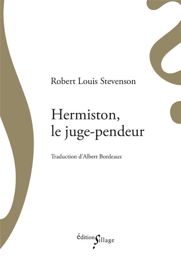 Hermiston, le juge-pendeur