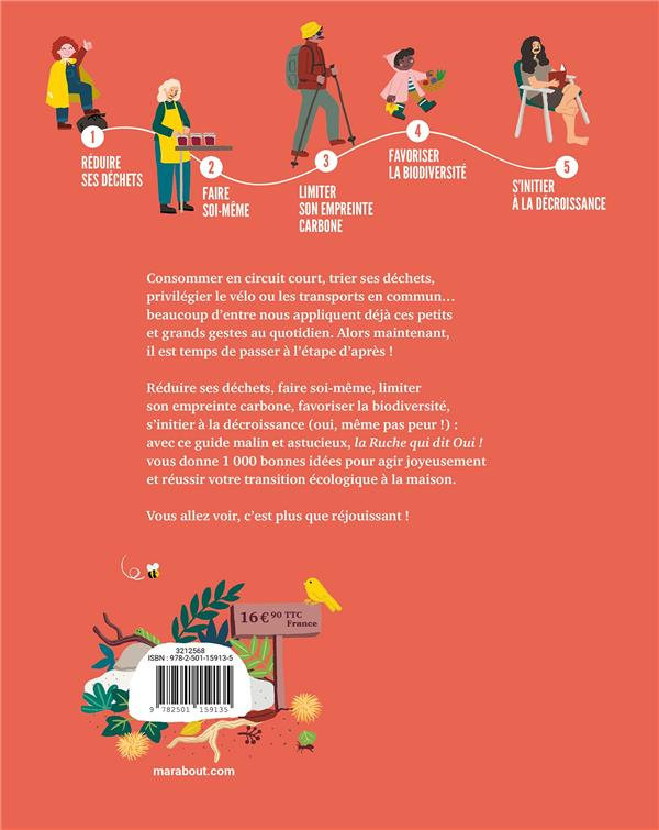 L'étape d'après : 1000 idées pour réussir sa transition écologique à la maison
