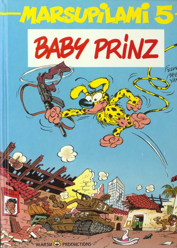 Marsupilami T.5 ; Baby Prinz