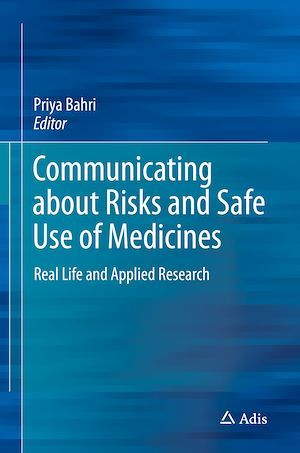 Communicating about Risks and Safe Use of Medicines