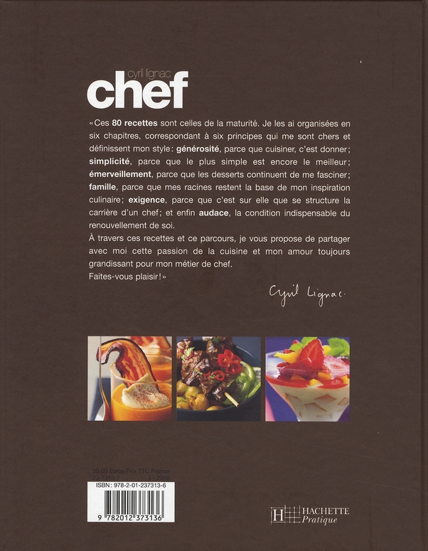 Chef ! 80 recettes