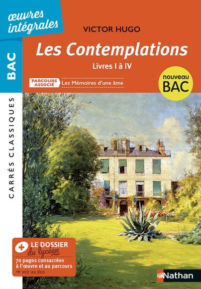 BLANC-HALEVY, LAURE - LES CONTEMPLATIONS  -  LIVRES I A IV