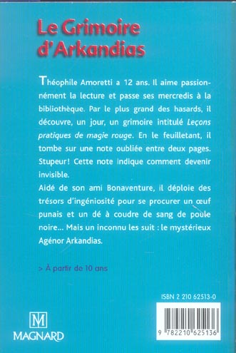 que d'histoires ! ; le grimoire d'Arkandias ; CM2 (édition 2006)