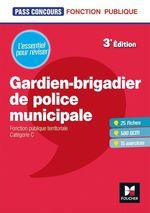 Pass'Concours - Gardien de police municipale - Catégorie C - Révision et entraînement
