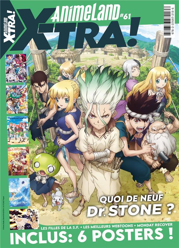 animeland xtra n.61 ; Dr. Stone