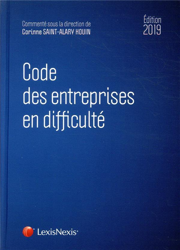 Code des entreprises en difficulte 2019