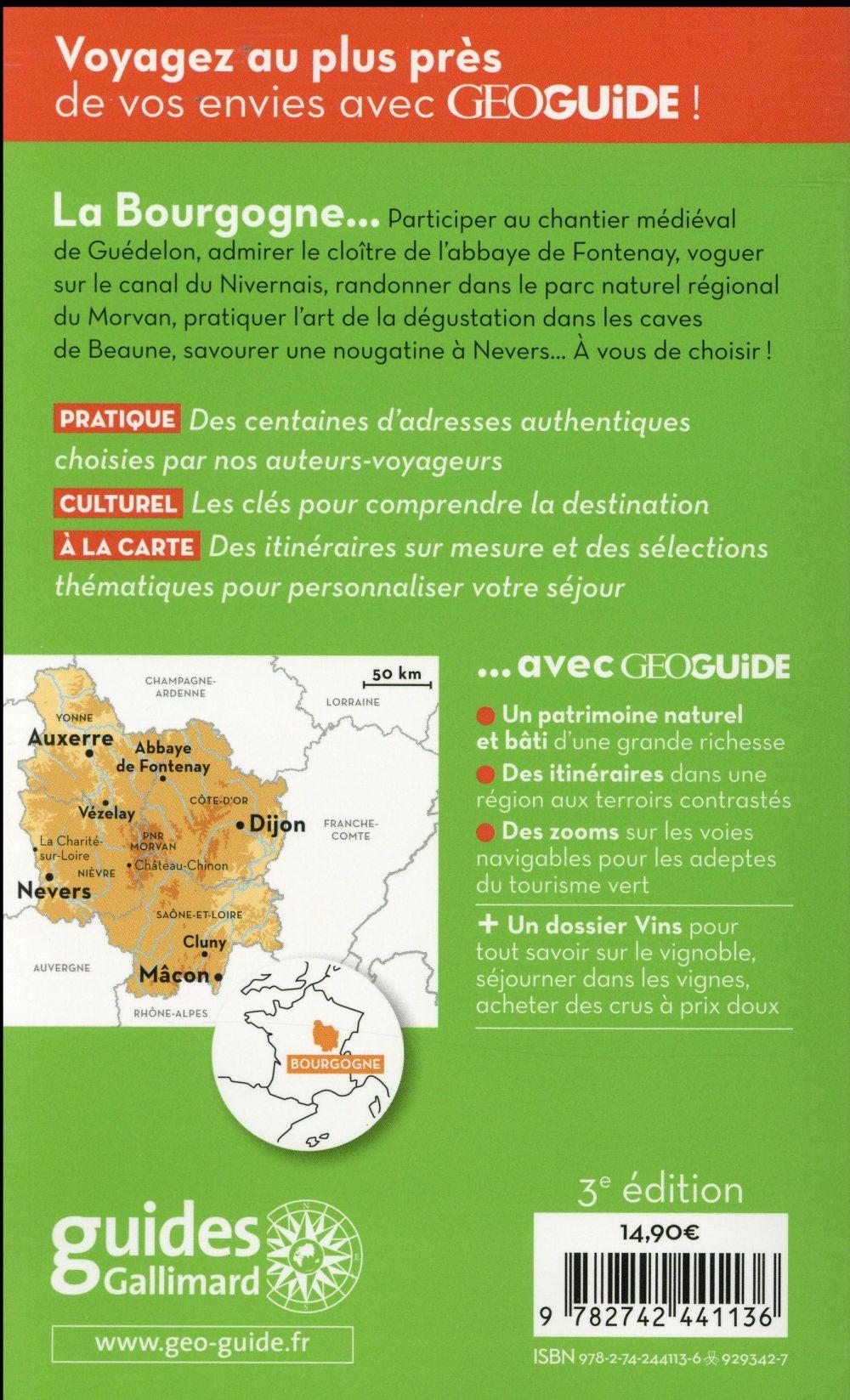 GEOguide ; Bourgogne