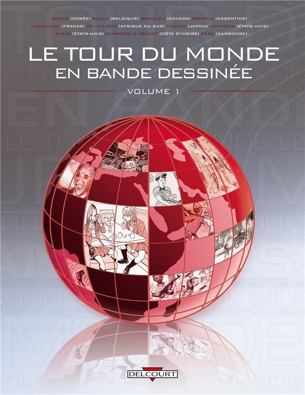 Le Tour Du Monde En Bande Dessinee T.1