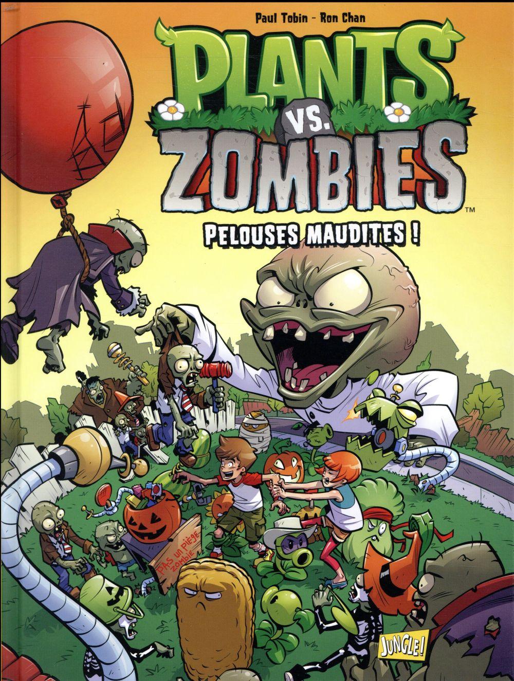 plants vs zombies t.8 ; pelouses maudites !