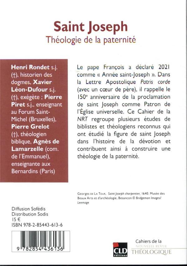 saint Joseph : théologie de la paternité