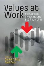 Values at Work  - Todd Cort - Daniel C. Esty