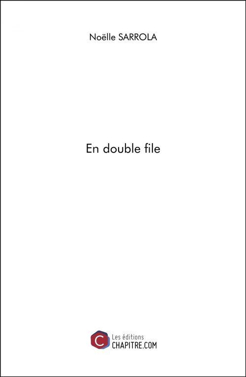 En double file