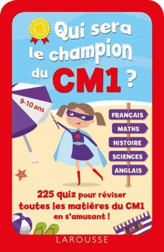 Qui sera le champion du CM1 ?