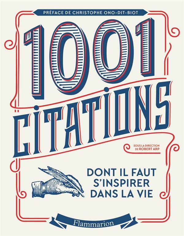 1001 citations dont il faut s'inspirer dans la vie