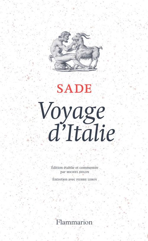 Voyage d'Italie  - Sade  - D.-A.-F. de Sade