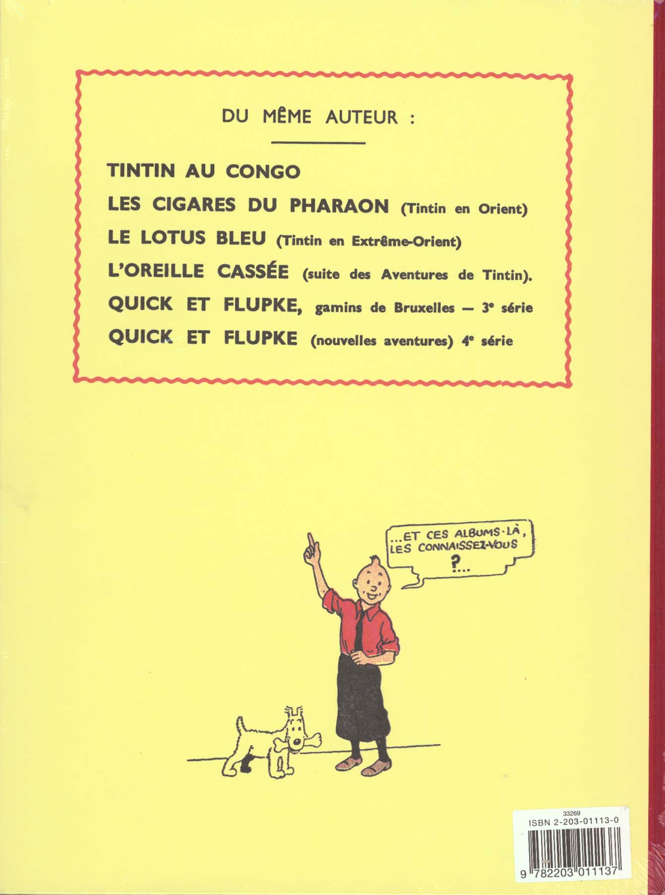 Les aventures de Tintin T.3 ; Tintin en Amérique